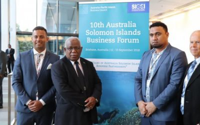 10th Australia Solomon Islands Business Forum Communique